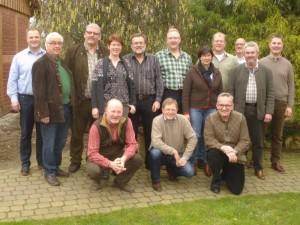 Der Vorstand der Jägerschaft Burgdorf in der Klausurtagung 2015