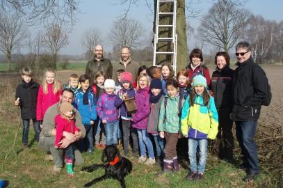 Steinwedeler Jagdpächter begeistern Lehrter Grundschüler für die Natur