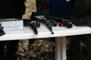 Der sichere Umgang mit Jagdwaffen ist Bestandteil der Jägerprüfung. Foto: Uwe Kurmeyer