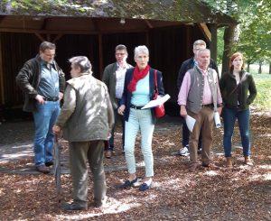 Die Vorbereitungen für die Waldschule Tiergarten sind angelaufen. Foto: Oliver Brandt